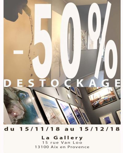 1 mois de Destockage à La Gallery